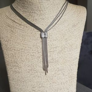 David Yurman Confetti Diamond Drop Necklace